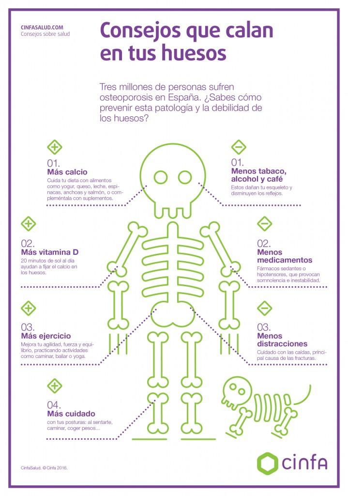 Cinfa Salud - Consejos osteoporosis