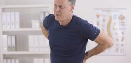 Las hernias discales son habituales en la parte inferior de la espina dorsal.