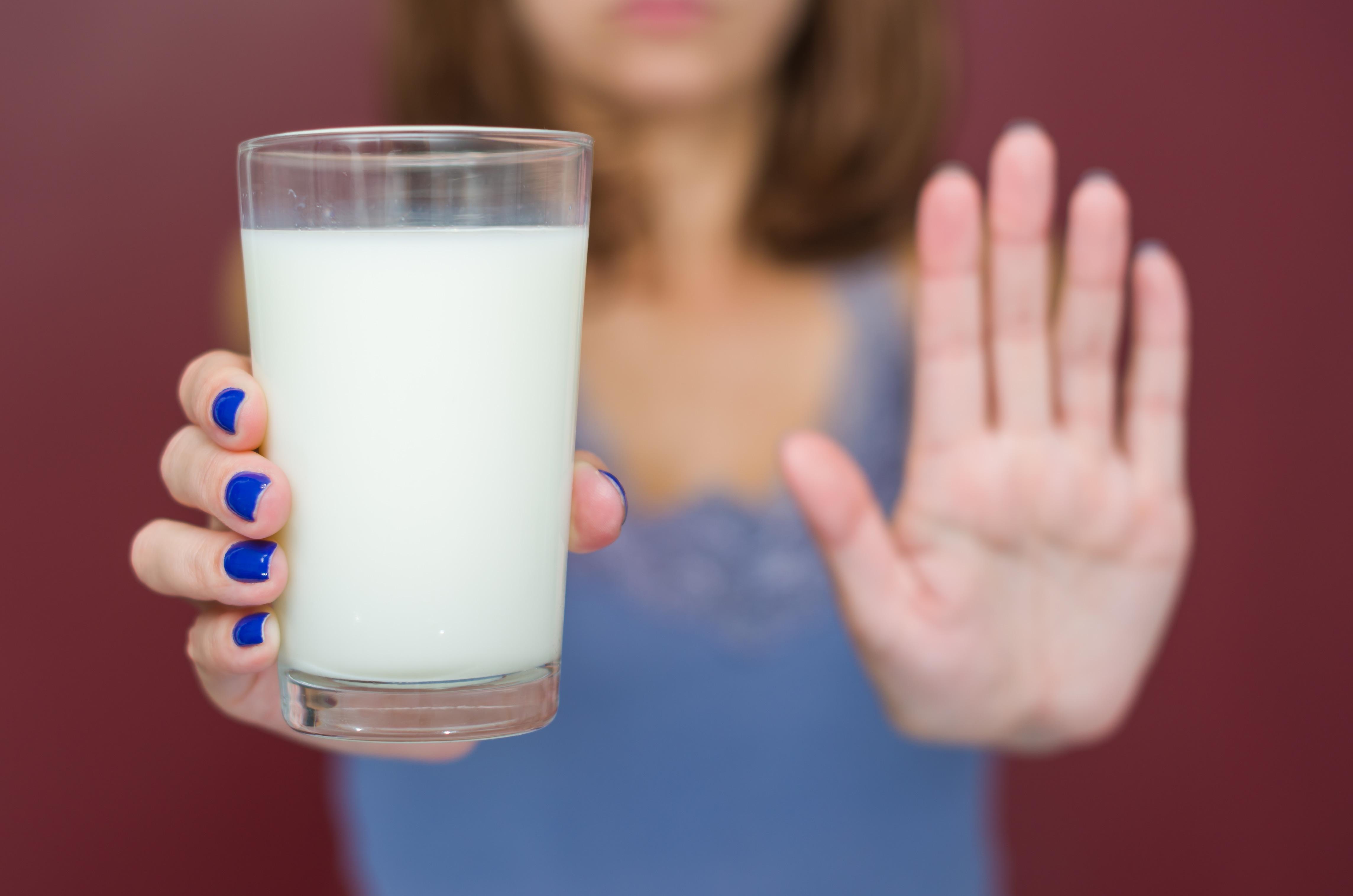 Síntomas que provoca la intolerancia al lactosa.